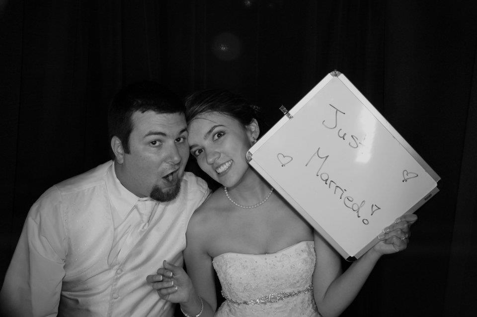 texas, wedding, photobooth, just married, longhorns
